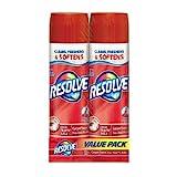 Resolve High Traffic Foam Large Area Carpet Cleaner, 22 Oz, (Pack of 2)