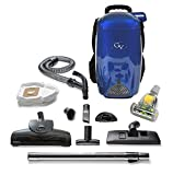 Blue 8 Quart Lightweight Backpack Vacuum Cleaner