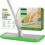 Microfiber Dust Mop Floor Cleaning System by Turbo Microfiber