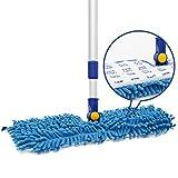 "JINCLEAN 18"" Microfiber Floor Dust Mop"