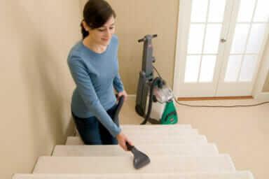 cleaning deep carpet