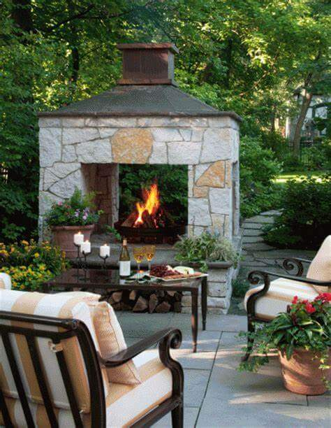 Outdoor Fireplace ideas 2