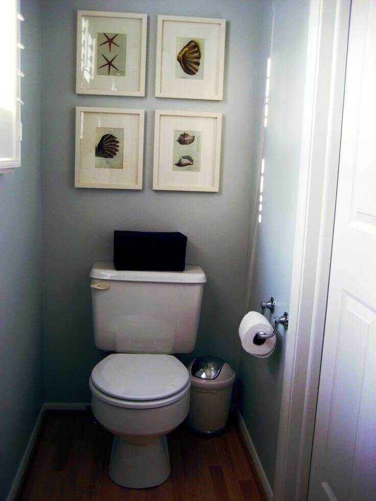 small half bathroom