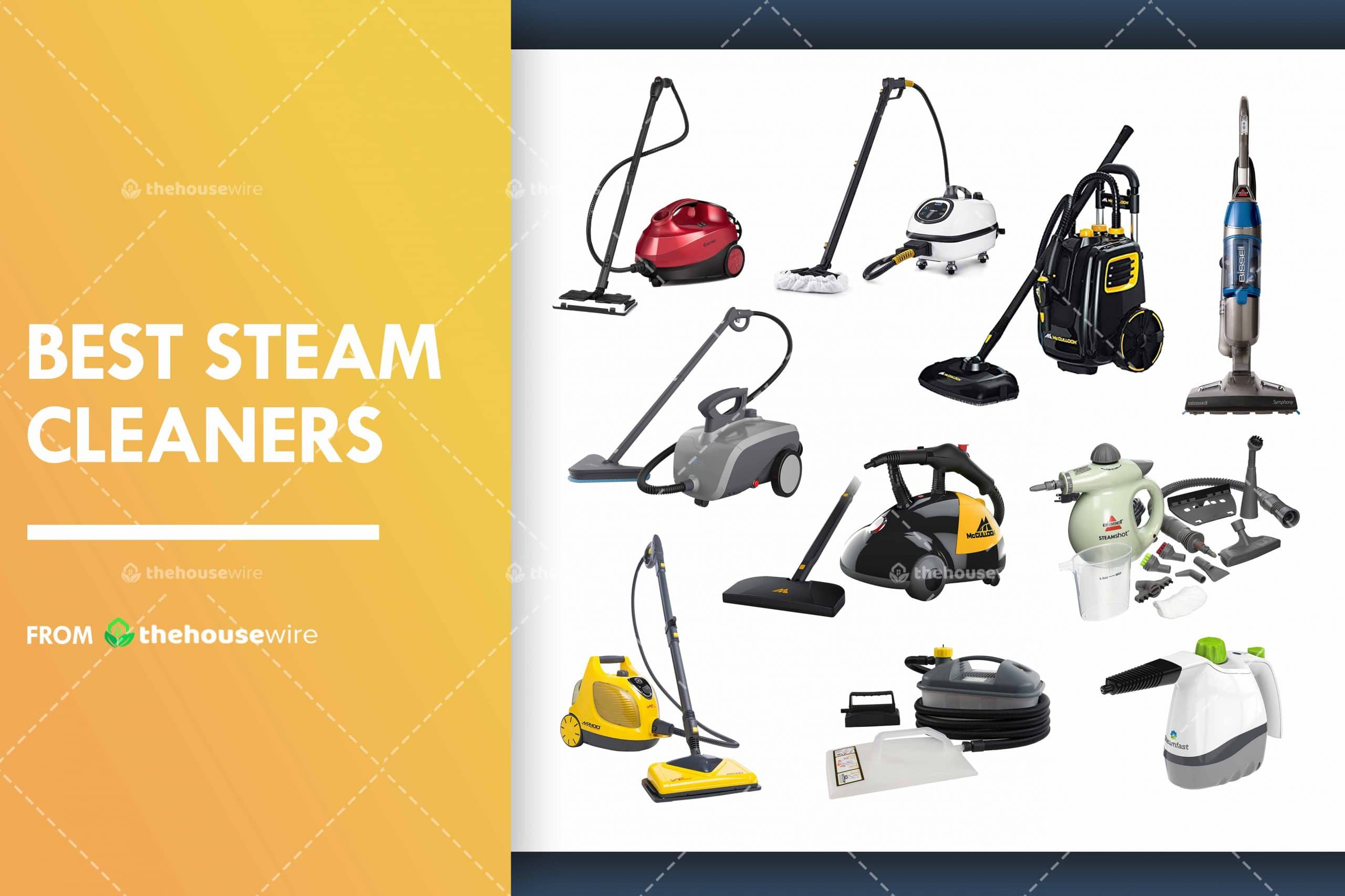Best Steam Cleaners of 2021