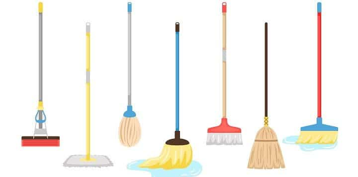 list of mops - keep it clean