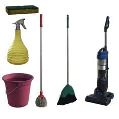 How To Clean Your Cleaning Supplies