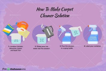 The Homemade Carpet Cleaner Recipe (That Works Fast)