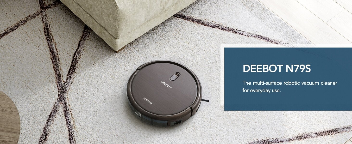 Ecovacs DEEBOT N79S Robotic Vacuum Cleaner with Max Power Suction