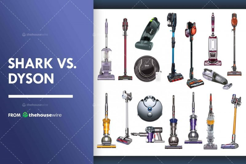 Shark Vs Dyson: The Real Truth, Which is The Best in 2020?