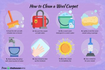 How To Clean A Wool Carpet (in 7 Steps)