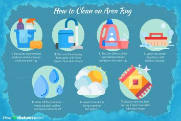 How to Clean an Area Rug in 7 Easy Steps
