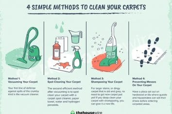 4 Simple Methods To Clean Your Carpets