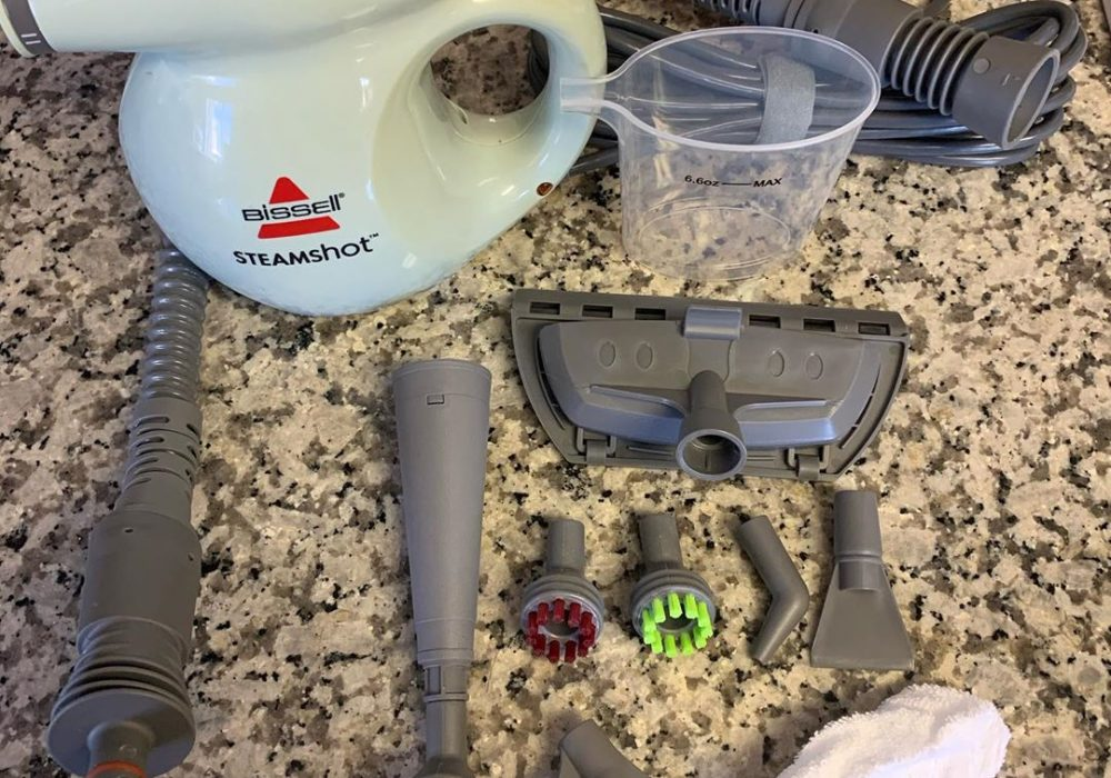 Bissell Steam Shot Handheld Hard Surface Steam Cleaner Review
