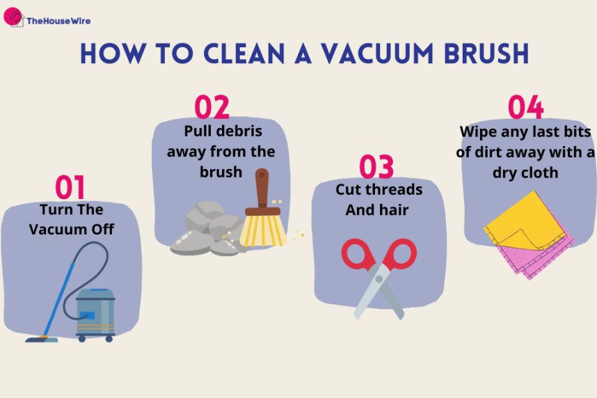 How To Clean a Vacuum Brush