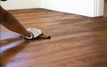 remove stains from wood floor