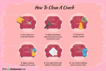 How To Clean a Couch, According to Cleaning Expert (Video Included)