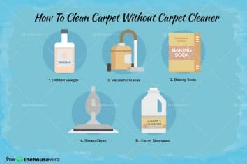 How to Clean Carpet without Carpet Cleaner