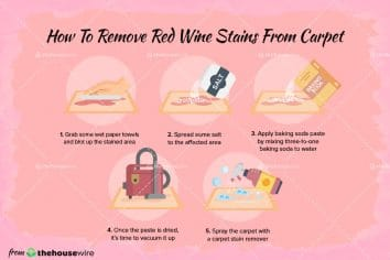 How To Remove Red Wine Stains From Your Carpet In 4 Simple Steps