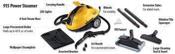 Wagner 915 Spraytech Steam Cleaner Review